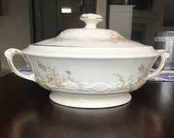 Pumpkin Soup Tureen And Bowls by Covered Soup Bowl Etsy