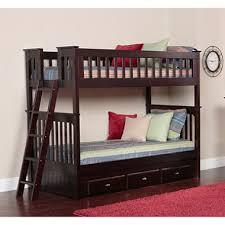 twin twin bunk bed espresso sam s club
