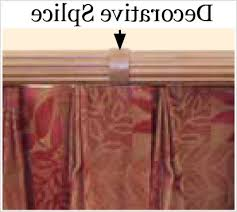 Wooden Decorative Traverse Curtain Rods by Best Place For Window Treatments Inviting Barre Custom 2