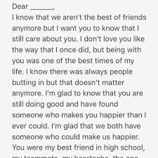 letters to my ex letterstomyex