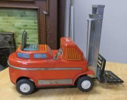 100 Toy Forklift Truck Vintage Modern Toys Tin Toy Forklift Japanese Tin Toy Fork Lift