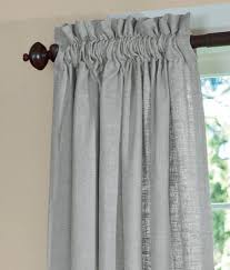 Allen Roth Raja Curtains by Soft Linen Lined Rod Pocket Curtains Country Curtains Home