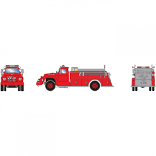 100 Ford Fire Truck Athearn HO RTR F850 Red TowerHobbiescom