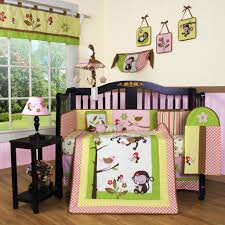 geenny monkey 13pcs crib bedding set