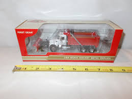 CENTRAL TRUCK SALES Mack Granite Dump Truck With Plow By First Gear ...