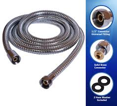 Serratia Marcescens Bathroom Treatment by Shower Hose 98 Inches 8 2 Ft Extra Long Stainless Steel Flexible