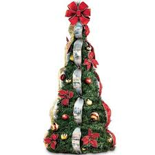 Get Quotations Thomas Kinkade Holiday Classics Fully Decorated 4 Ft Pre Lit Pull Up Christmas