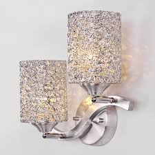 2 light luxury style decorative wall sconces for bedroom