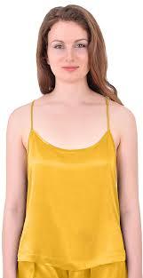 marycrafts womens pure silk slip tank top camisole sleepwear