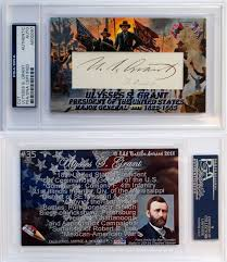 ULYSSES S GRANT PRESIDENT GENERAL 35 ESI Civil War PSA DNA 1 Of 6FREE Shipping See More