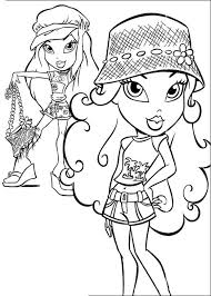 Bratz Colouring Pages To Print