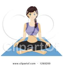 Meditation Clipart Yoga Mat 4