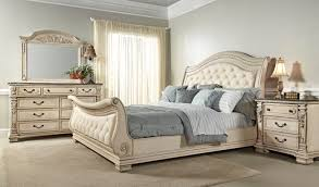 North Shore Sleigh Bedroom Set by Fairfax Home Furnishings Alexandra Sleigh Bedroom Set In Creamy Bisque