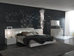 Contemporary Room Ideas Bedroom Set With Gray Bedding Modern Decorating Complete Pillows And Dark Wall Color Using Mirror That Have White Wood