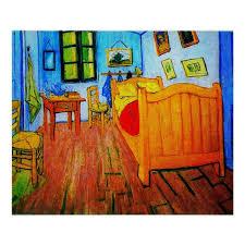vincent goghs schlafzimmer in arles poster