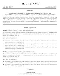 Good Resume Titles Headlines Examples