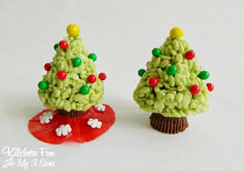 Rice Krispie Christmas Tree Ornaments by Christmas Tree Brownies Kitchen Fun With My 3 Sons