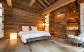 chambre montagne décoration intérieur chalet montagne 50 idées inspirantes