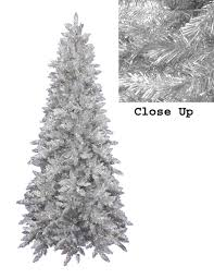 9 Ft White Pencil Christmas Tree by Best 25 Slim Artificial Christmas Trees Ideas On Pinterest