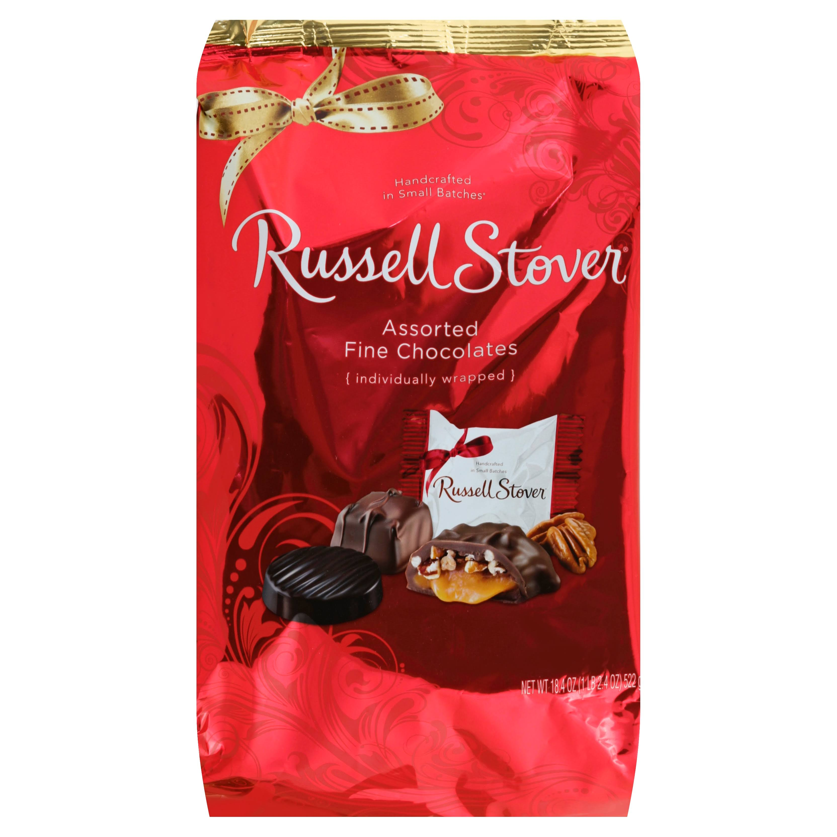 Russell Stover Assorted Chocolates Bag - Red, 18.4oz