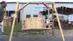 American Made Log Swing vs Imported Log Swing