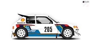 Peugeot 205 Turbo 16 Evolution 2 by T84FR on DeviantArt