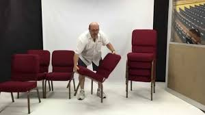 Lifetime Stacking Chairs 2830 by How To Stack Church Chairs Youtube