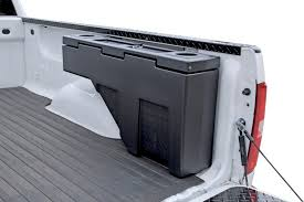Dee Zee Poly Side Bed Wheel Well Tool Box - FREE SHIPPING