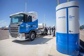 100 Natural Gas Trucks New Fuel Galileo Distributes LNG For Trucks