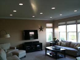 recessed lighting installation drywall repair painting