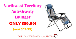 northwest territory anti gravity lounger only 39 99 was 69 99