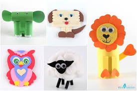 15 Easy To Make Animal Crafts For Kids