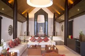 1 Living Room Pillar Style Asian