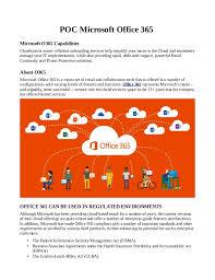 Poc microsoft office 365