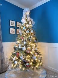 Kmart Christmas Tree Skirt by Blue 11 Interiors December 2013