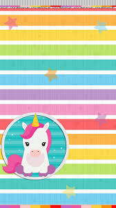 Unicorn Rainbow Wallpaper Iphone Android