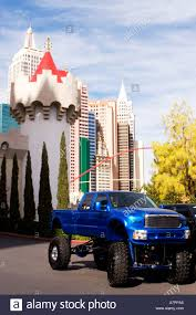 100 Big Truck Big Tires Raised With Big Tires Parked At Excalibur With New York New