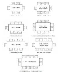 10 person table size 28 images how to choose a dining table