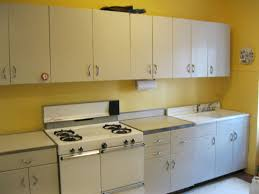 Of Late Retro Metal Kitchen Cabinet For Beauty And Durability My Cabinets Sale