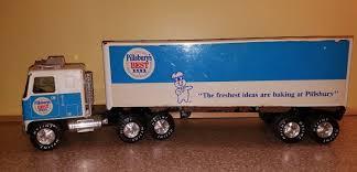 100 Best Semi Truck VINTAGE NYLINT TRUCK SEMI TRACTOR TRAILER TRANSPORT PILLSBURYS BEST