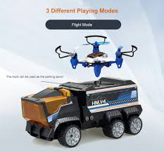 100 Mini Rc Truck SILVERLIT RC RC Drone 2 In 1 Design Toy For Kids