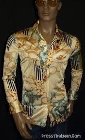 70s Disco Shirts For Men
