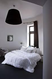 chambre grise et blanc idee deco chambre grise adulte blanc gris romantique mur situ en