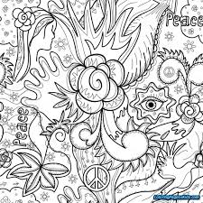 Abstract Coloring Pages For Teenagers Difficult Cat