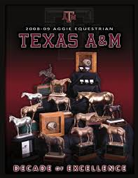 2008 2009 Texas A&M Equestrian Media Guide by Jonathan Lee issuu