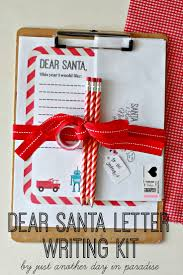 Just Another Day in Paradise Dear Santa Letter Writing Kit and