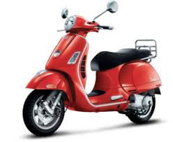 Light Colorful Amusing Its Our Red Vespa