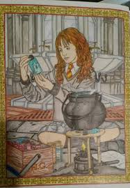 Coloring Book Harry Potter Fuck Yeah Adult U2014 Lillolajane I Finished