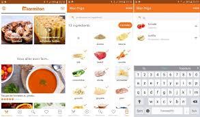 logiciel recette cuisine 4 applications pour cuisiner à partir des ingrédients de votre