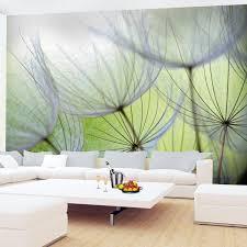 fototapeten pusteblumen grün 352 x 250 cm vlies wand tapete